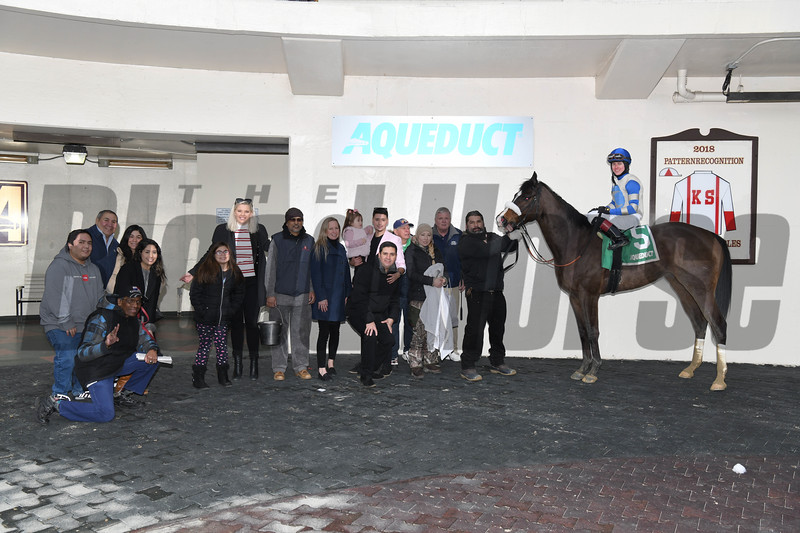 Kept True wins the 2020 Broadway Stakes at Aqueduct. Photo: Coglianese Photos
