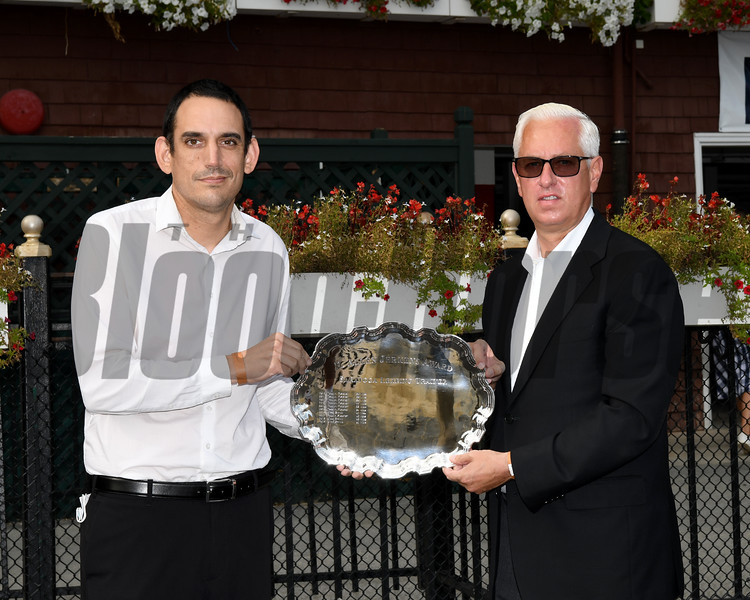 Todd Pletcher<br /> 2020 Saratoga Leading Trainer<br /> Coglianese Photos