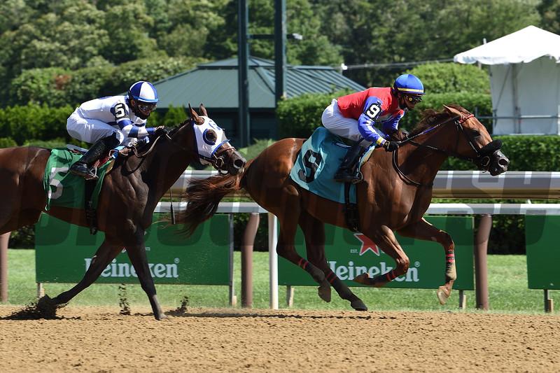 Rossa Veloce - Maiden Win, Saratoga, August 5, 2020<br /> Coglianese Photos/Chris Rahayel