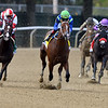 Jackie's Warrior wins the 2020 Champagne Stakes at Belmont Park<br /> Coglianese Photos/Dom Napolitano