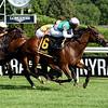 Viadera wins the 2020 De La Rose Stakes at Saratoga<br /> Coglianese Photos/Susie Raisher