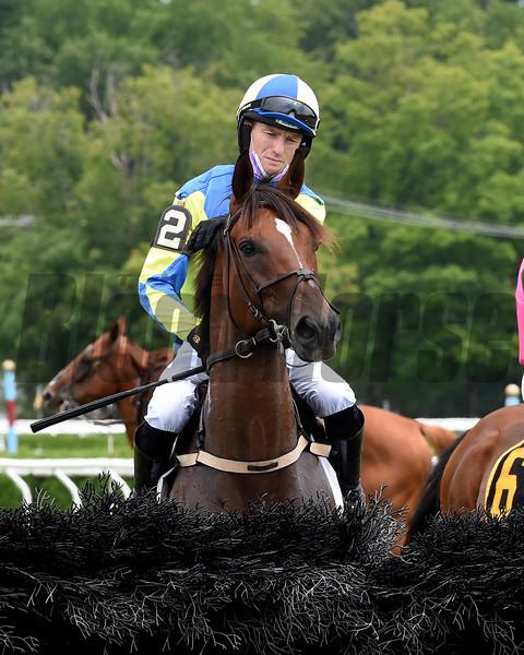 Snap Decision (inside) wins the 2020 Jonathan Kiser Novice Stakes at Saratoga  <br /> Coglianese Photos/Chelsea Durand