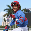 Joseph Trejos 3 wins, Gulfstream Park, May 28, 2020<br /> Coglianese Photos/Ryan Thompson
