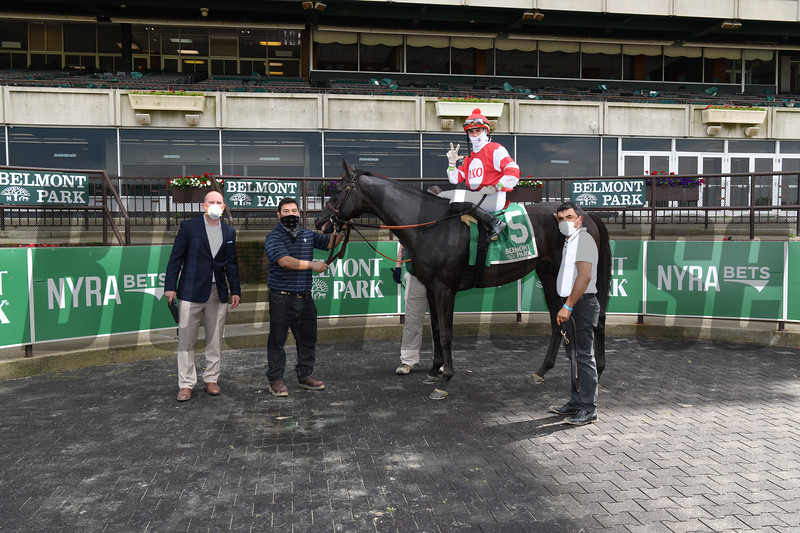 Instilled Regard wins the 2020 Fort Marcy Stakes at Belmont Park<br /> Coglianese Photos
