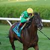 Cariba wins the Caress Stakes Saturday, August 1, 2020 at Saratoga. Photo: Coglianese Photos/Elsa Lorieul