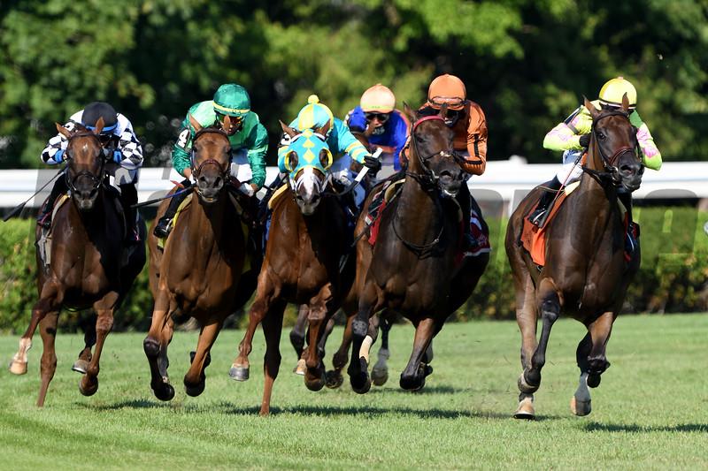 My Sister Nat wins the 2020 Waya Stakes at Saratoga<br /> Coglianese Photos/Elsa Lorieul