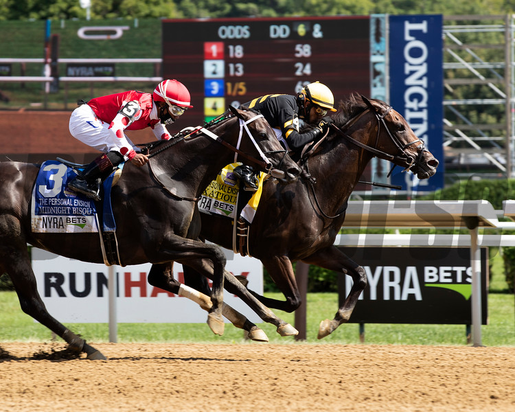Vexatious wins the 2020 Personal Ensign Stakes at Saratoga<br /> Coglianese Photos/Janet Garaguso