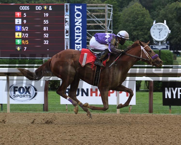Stimulus Check - Maiden Win, Saratoga, August 19, 2020<br /> Coglianese Photos