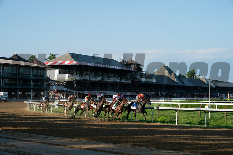 Tiz the Law wins the 2020 Travers Stakes<br /> Coglianese Photos/Amira Chichakly