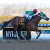 Diamond King wins the 2020 Stymie Stakes at Aqueduct.<br /> Coglianese Photos/Janet Garaguso