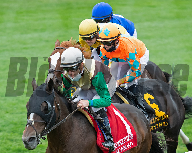 Frist time by with Postulation and Julien Leparoux on the lead. Red Knight #2 with James Graham won the Sycamore (G3) at Keeneland on October 3, 2020.