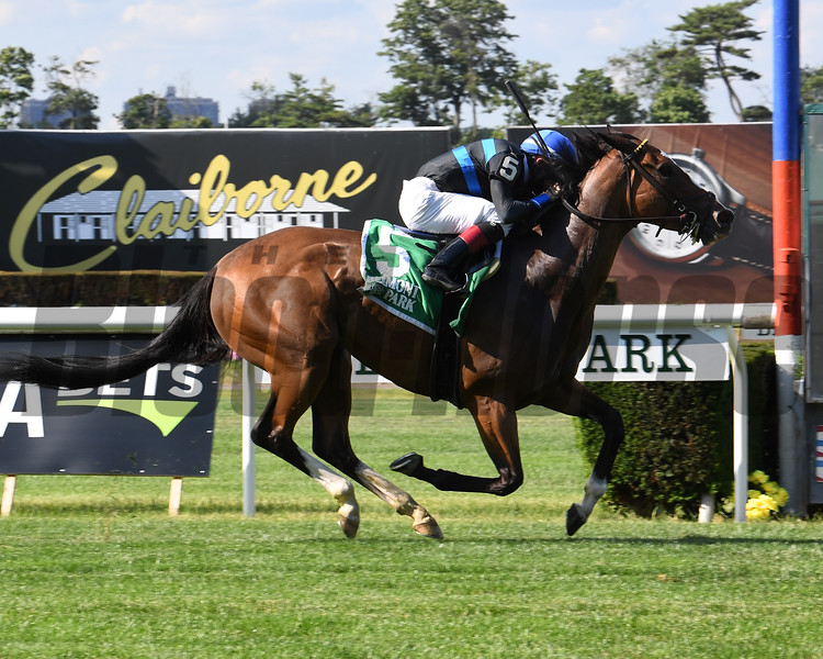 Mentality wins the 2020 Hessonite Stakes at Belmont Park<br /> Coglianese Photos/Susie Raisher