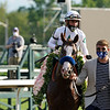 Improbable wins the Whitney Stakes Saturday, August 1, 2020 at Saratoga. Photo: Coglianese Photos/Dom Napolitano