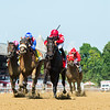 Serengeti Empress with Luis Saez wins the Ballerina (G1) presented by NYRA Bets at Saratoga Race Track on Aug. 8, 2020.<br /> Skip Dickstein Photo
