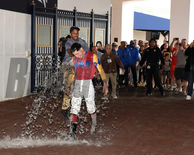 Areyoutalkingtome wins 2020 Claiming at Gulfstream Park/Jockey Mario Fuentes gets first career win. Photo: Coglianese Photos/Lauren King