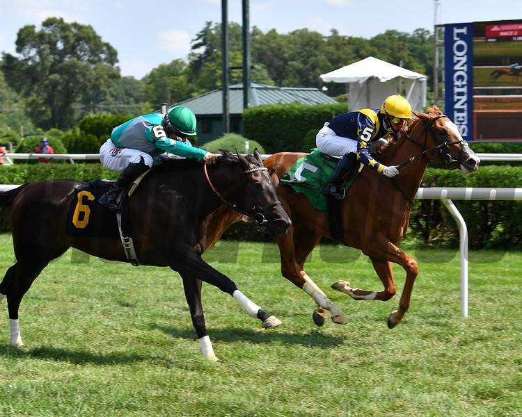 Seasons wins maiden special weight Sunday, August 9, 2020 at Saratoga. Photo: Coglianese Photos