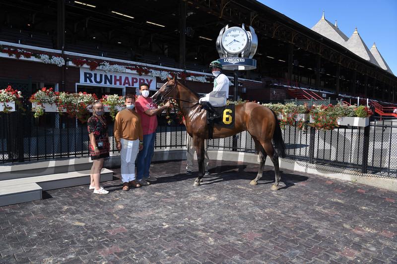 Guardian Moon - Maiden Win, Saratoga, August 6, 2020<br /> Coglianese Photos