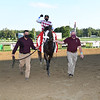 Tiz the Law wins the Travers Stakes Saturday, August 8, 2020 at Saratoga. Photo: Coglianese Photos