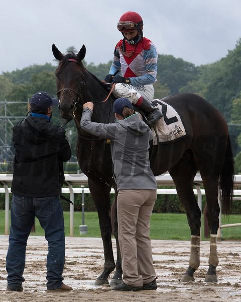 Bye Bye Melvin wins the 2020 Saranac Stakes at Saratogs<br /> Coglianese Photos/Susie Raisher