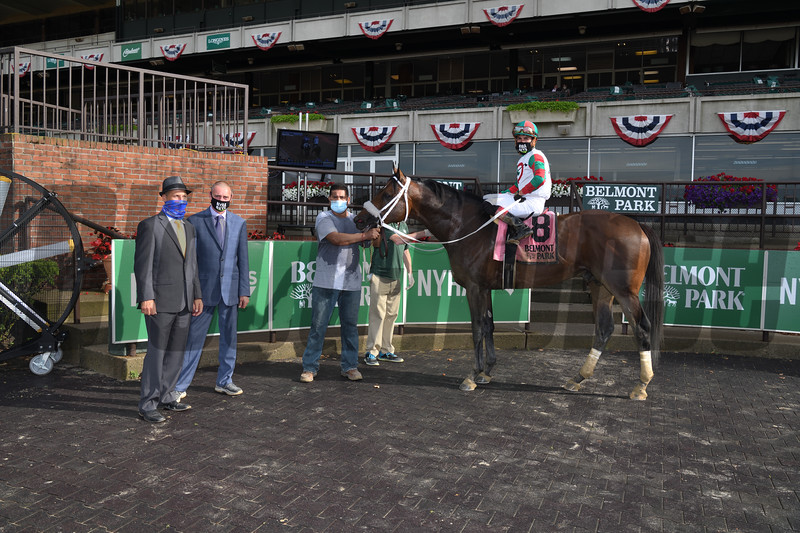 Firenze Fire wins the 2020 True North Stakes at Belmont Park<br /> Coglianese Photos