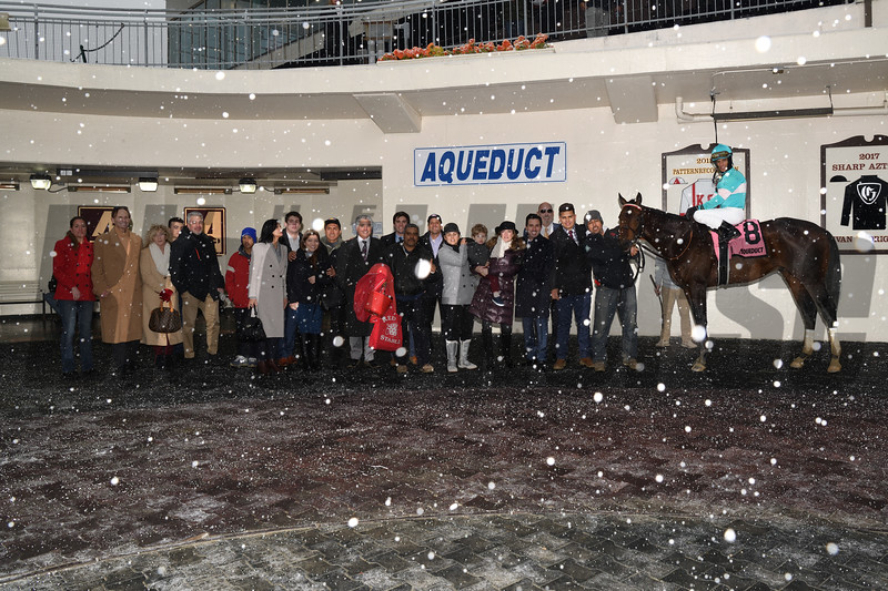 Mind Control wins the 2020 Toboggan Stakes at Aqueduct<br /> Coglianese Photos/Chelsea Durand