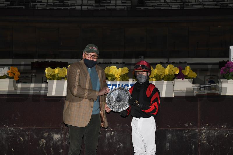 Mutamakina wins the 2020 Long Island Stakes at Aqueduct<br /> Coglianese Photos
