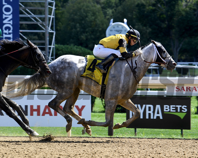 Chestertown wins the 2020 Albany Stakes at Saratoga<br /> Coglianese Photos/Susie Raisher