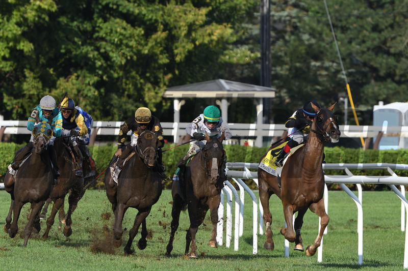 Channel Maker wins the 2020 Sword Dancer Stakes at Saratoga<br /> Coglianese Photos/Dom Napolitano