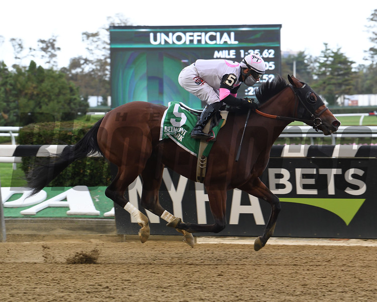 Horologist wins the 2020 Beldame Stakes at Belmont Park<br /> Coglianese Photos/Susie Raisher