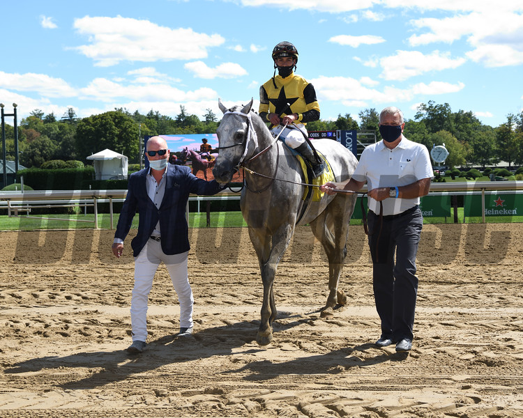 Chestertown wins the 2020 Albany Stakes at Saratoga<br /> Coglianese Photos