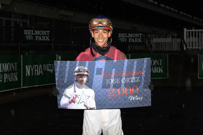 2000th win for Jose Ortiz<br /> Coglianese Photos