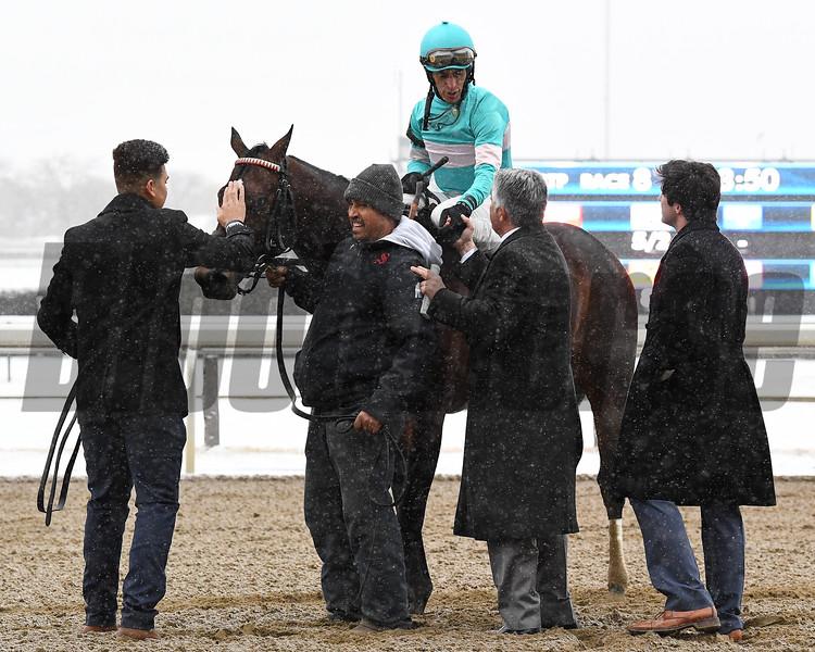 Mind Control wins the 2020 Toboggan Stakes at Aqueduct<br /> Coglianese Photos/Susie Raisher