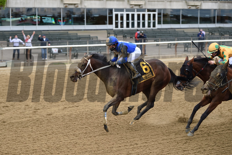 Collegeville Girl wins the 2020 Iroquois Stakes at Belmont Park<br /> Coglianese Photos/Chelsea Durand