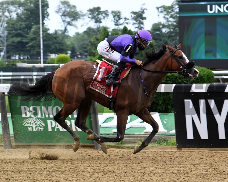 Critical Value wins the 2020 Bouwerie Stakes at Belmont Park<br /> Coglianese Photos/Susie Raisher