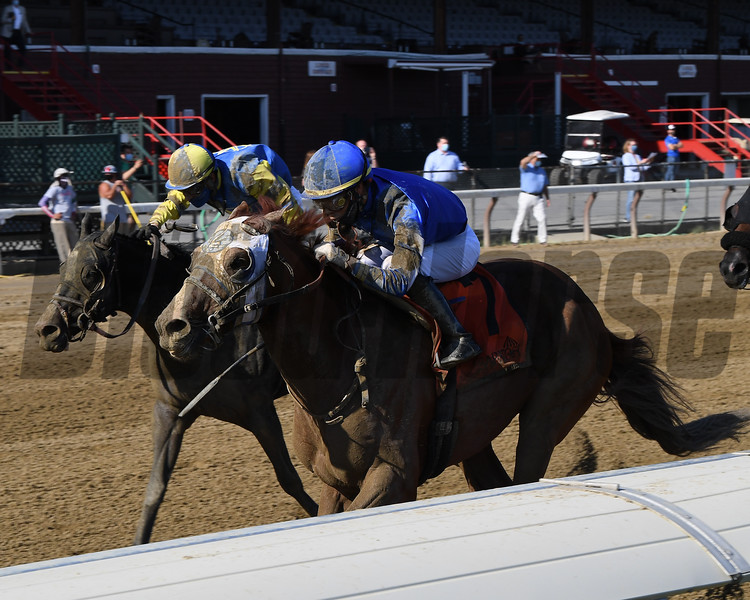Mystic Guide wins the 2020 Jim Dandy Stakes at Saratoga<br /> Coglianese Photos/Chelsea Durand