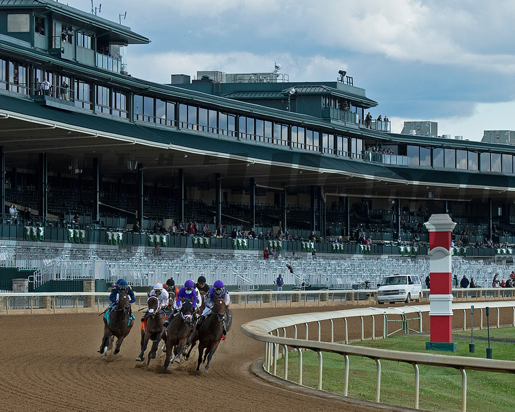 Opening day of the Keeneland fall meeting on October 2, 2020.
