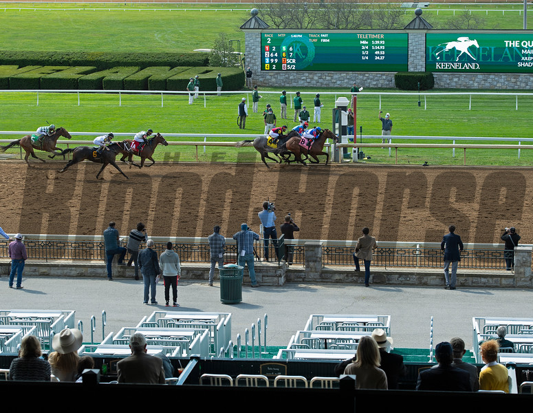 Guana Cay in Race 2<br /> Scenes at Keeneland  on October 3, 2020.