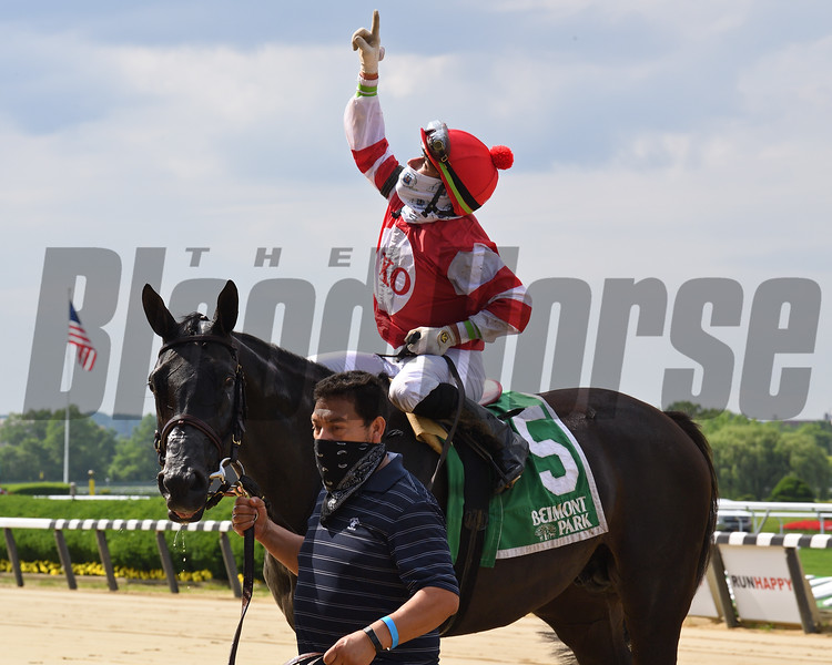 Instilled Regard wins the 2020 Fort Marcy Stakes at Belmont Park<br /> Coglianese Photos/Susie Raisher