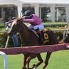 Lucky Polly wins the 2020 Martha Washington Stakes at Gulfstream Park<br /> Coglianese Photos/Ryan Thompson