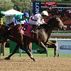 Thin White Duke wins the 2020 Funny Cide Stakes at Saratoga<br /> Coglianese Photos/Janet Garaguso