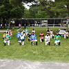 Belmont Park Opening Day, June 3, 2020 <br /> Jockeys Kneeling<br /> Coglianese Photos