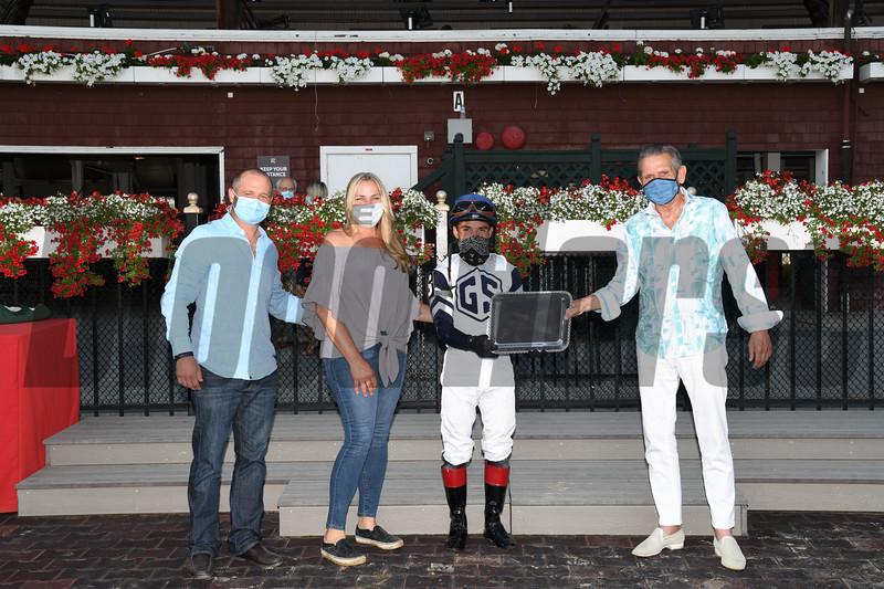Funny Guy wins the 2020 John Morrissey Handicap at Saratoga<br /> Coglianese Photos