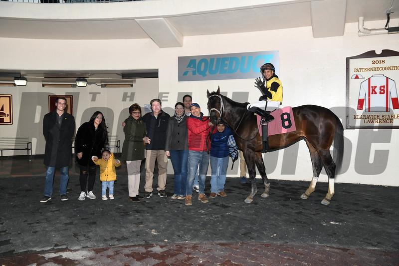 Desbordes wins a maiden claiming race February 22, 2020 at Aqueduct Racetrack. Photo: Coglianese Photos