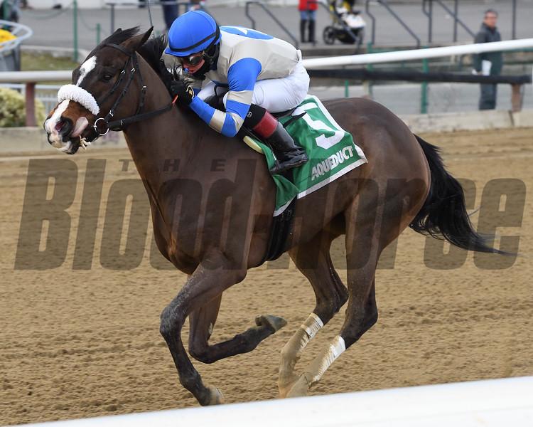 Kept True wins the 2020 Broadway Stakes at Aqueduct<br /> Coglianese Photos/Joe Labozzetta