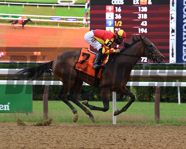 Dayoutoftheoffice wins the 2020 Schuylerville Stakes at Saratoga<br /> Coglianese Photos/Susie Raiser