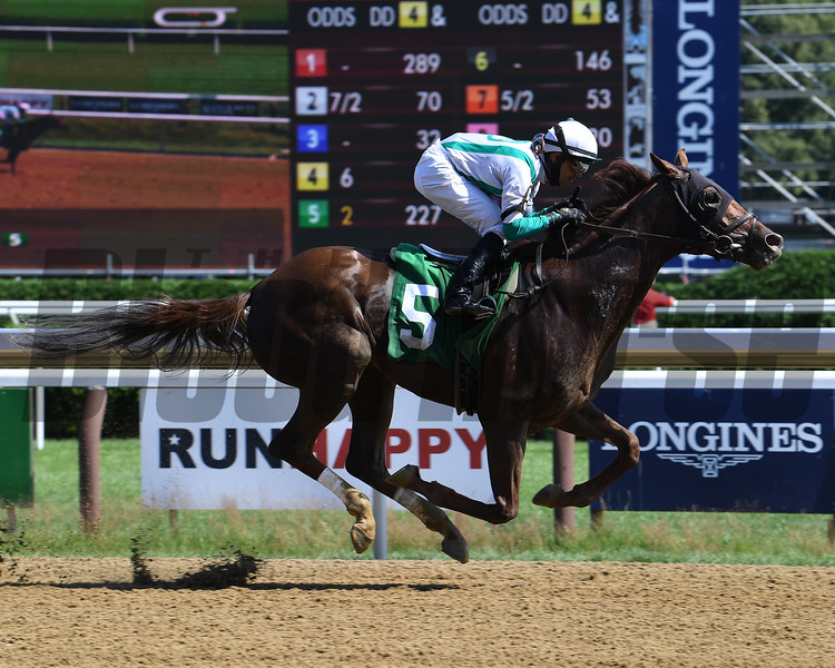 Too Early - Maiden Win, Saratoga, July 17, 2020<br /> Coglianese Photos