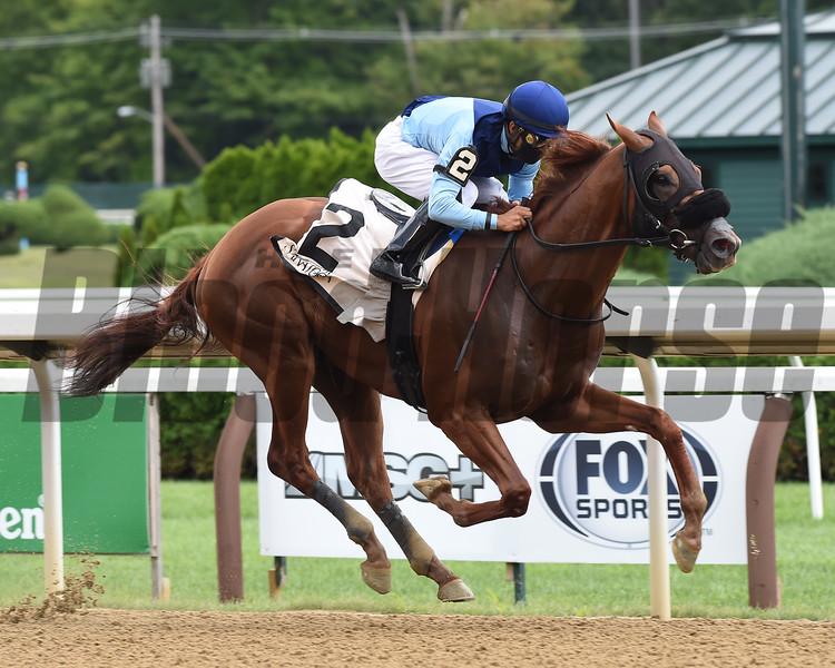 Captain Bombastic wins the 2020 New York Stallion Stakes (Times Square div)      <br /> Coglianese Photos