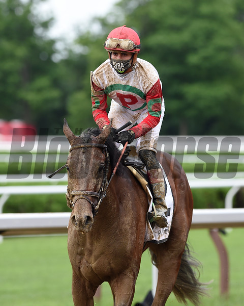 Country Grammer wins the 2020 Peter Pan Stakes at Saratoga<br /> Coglianese Photos