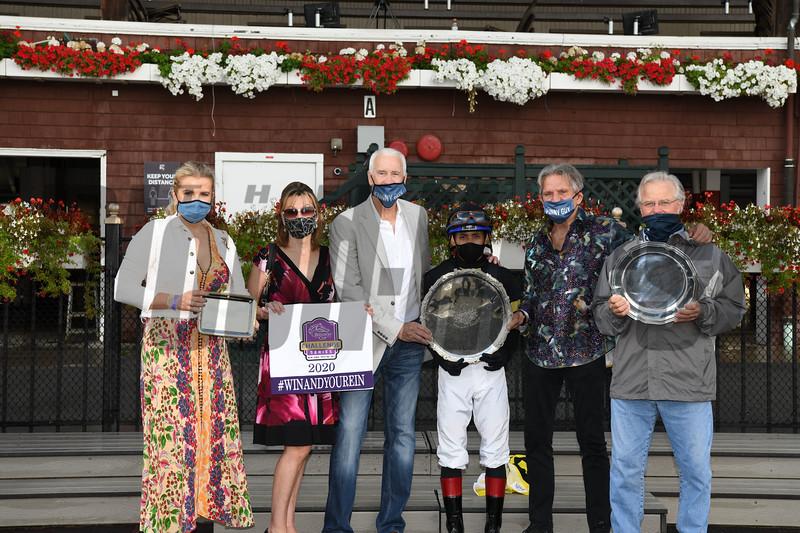 Channel Maker wins the 2020 Sword Dancer at Saratoga<br /> Coglianese Photos