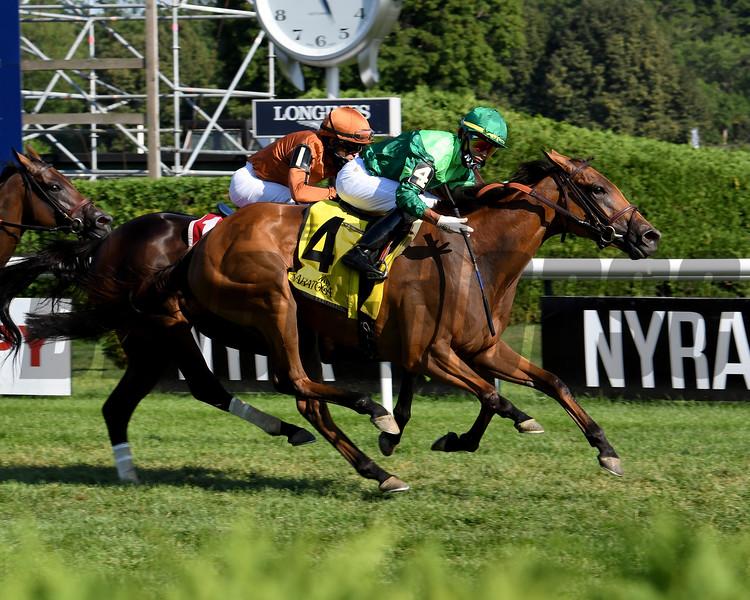 My Sister Nat wins the 2020 Waya Stakes at Saratoga<br /> Coglianese Photos/Susie Raisher